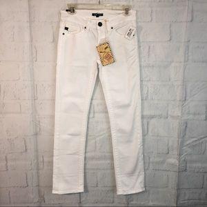 NWT Dear John white denim jeans 25 Waist